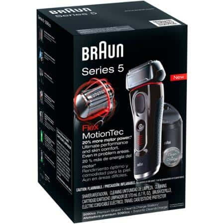 Braun Series 5 5090cc Electric Shaver with Cleaning Station Walmart $50 EXTREME YMMV