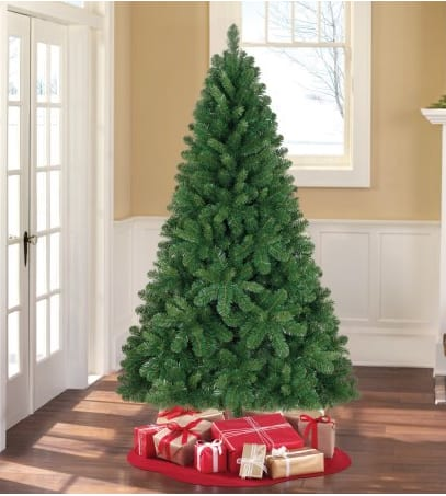 Artificial Christmas Tree - 6.5' Jackson Spruce Green  free instore pickup $27.58