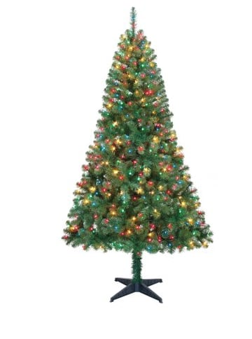 Pre-Lit Artificial Christmas Tree Madison Pine 6.5 free instore pick $36.04