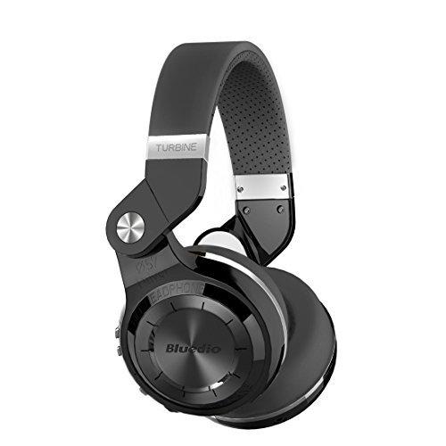 Bluedio T2s Bluetooth Headphones [Black] $20.01
