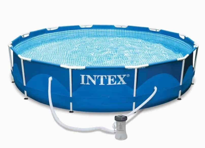 Intex 12-ft x 12-ft x 30-in Round Above-Ground Pool $159.99 Lowes.com