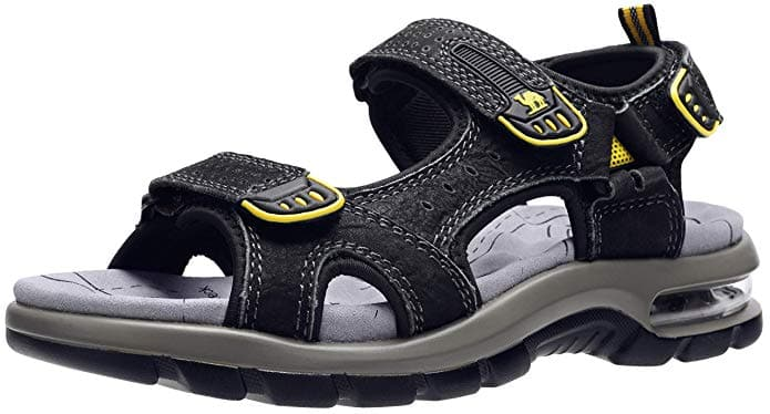 3ffddb97e Mens Air Cushion Leather Sandals Comfortable Walking for Beach Treads Water  Summer Athletic Outdoor Hiking Shoes  29.99
