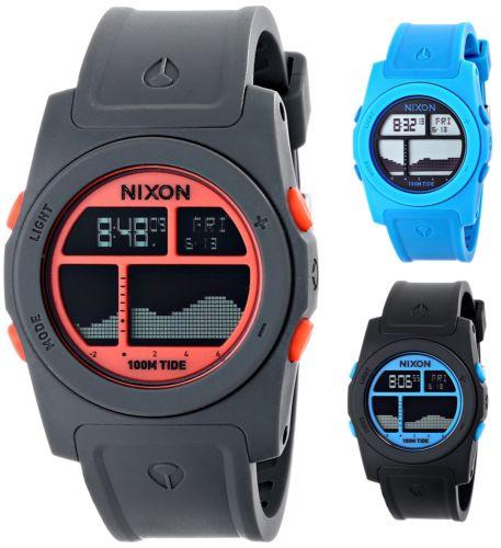 Nixon Men's Rhythm 41mm Digital Polycarbonate Watch $23.99