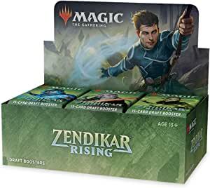 Magic The Gathering Zendikar Rising Draft Booster Box + 1 Box Topper $85.70 @ Amazon