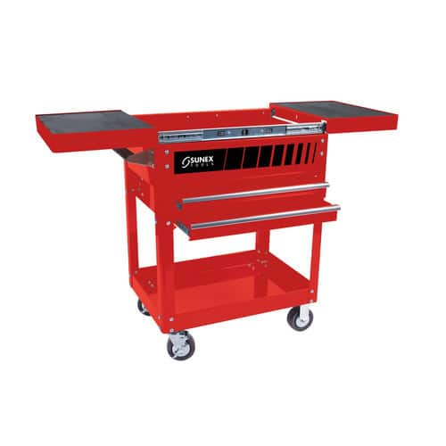 Sunex 8035R Compact Slide Top Tool Cart, Red $176 FS w/ Prime $176