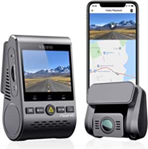 VIOFO Dual Dash Cam, 2K 1440P 60fps+1080P 30fps Front and Rear Dash Camera (A129 Plus Duo) $140.32 at Viofo Ltd via Amazon