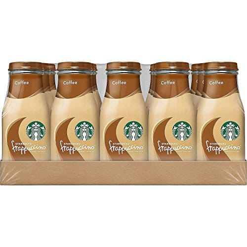 Starbucks Frappuccino, Coffee, 9.5 Fl. Oz (15 Count) Glass Bottles at Amazon, 15.19 S&S