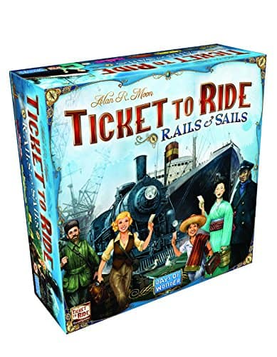 Ticket To Ride Rails and Sails Board Game $59.96
