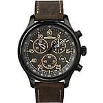 Timex Men's T499059J Expedition Field Chronograph Watch $38.38 at Amazon