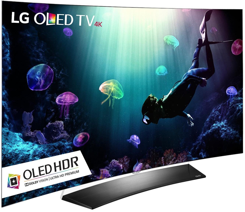 "55"" LG OLED TV OLED55C6P or OLED55B6P - Fry's Electronics (w/ Promo Code) - No Sales Tax $1299"