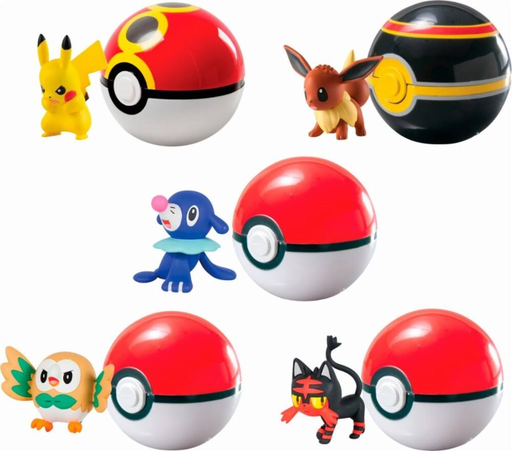 TOMY Pokémon Multi Clip 'n' Carry 5-Pack $29.99 - Best Buy
