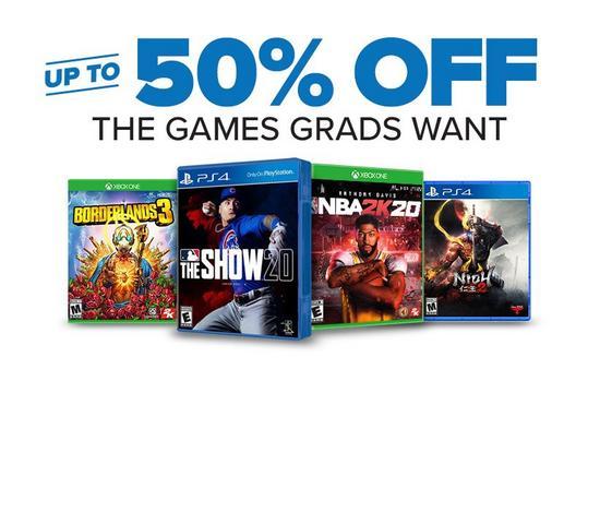 Gamestop Congradulations Sale Up To 50 Off Games 80 Off