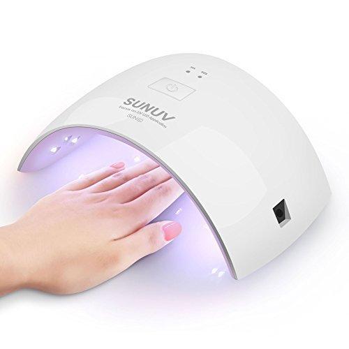 SUNUV 24W UV Light LED Nail Dryer Curing Lamp - Amazon $9.60AC