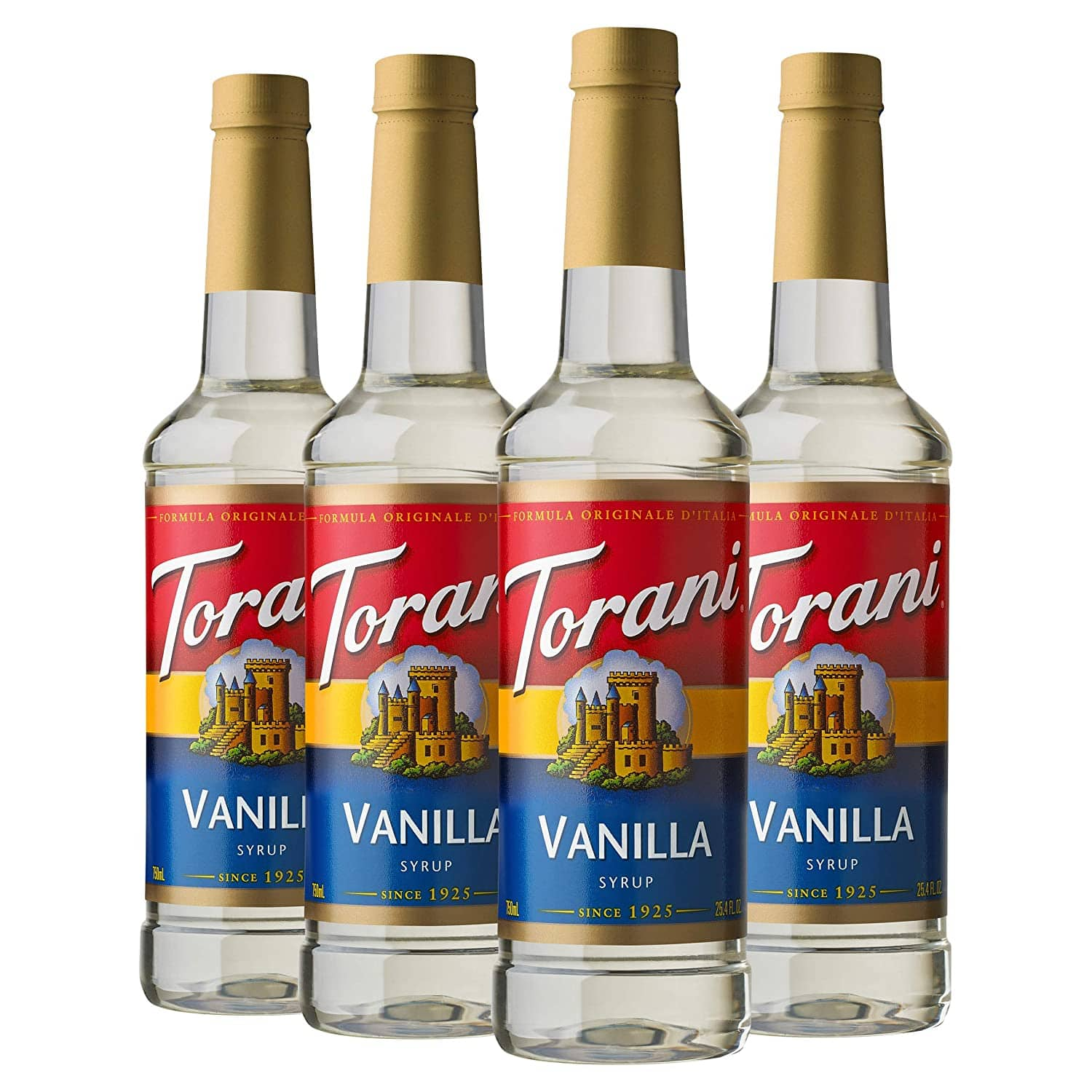 Torani Syrup, Vanilla, 25.4 Ounces (Pack of 4) $15.08
