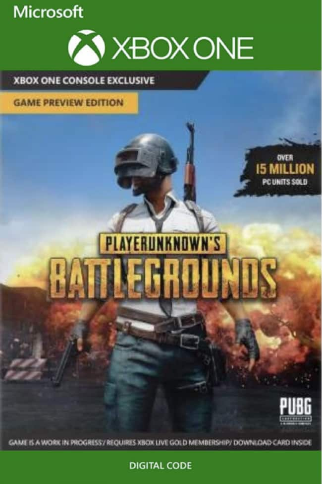 PlayerUnknown's Battlegrounds (PUBG) + AC Unity (XB1 Digital Codes) $16.29 or less
