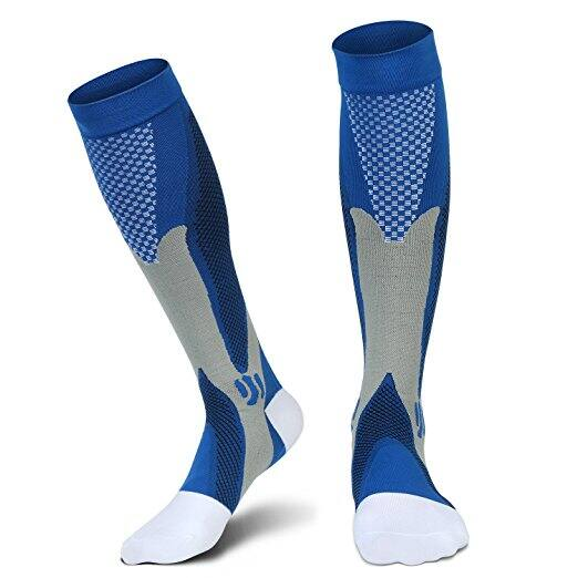 Graduated Compression Socks (20-30 mmHg) on Amazon $6.83 AC and Free Prime Shipping