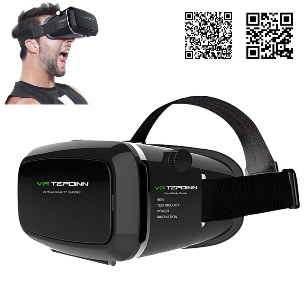 3D VR Headset with Adjustable Lens and Strap on Amazon $5.87 or $9.23 AC w/ Free Prime Shipping