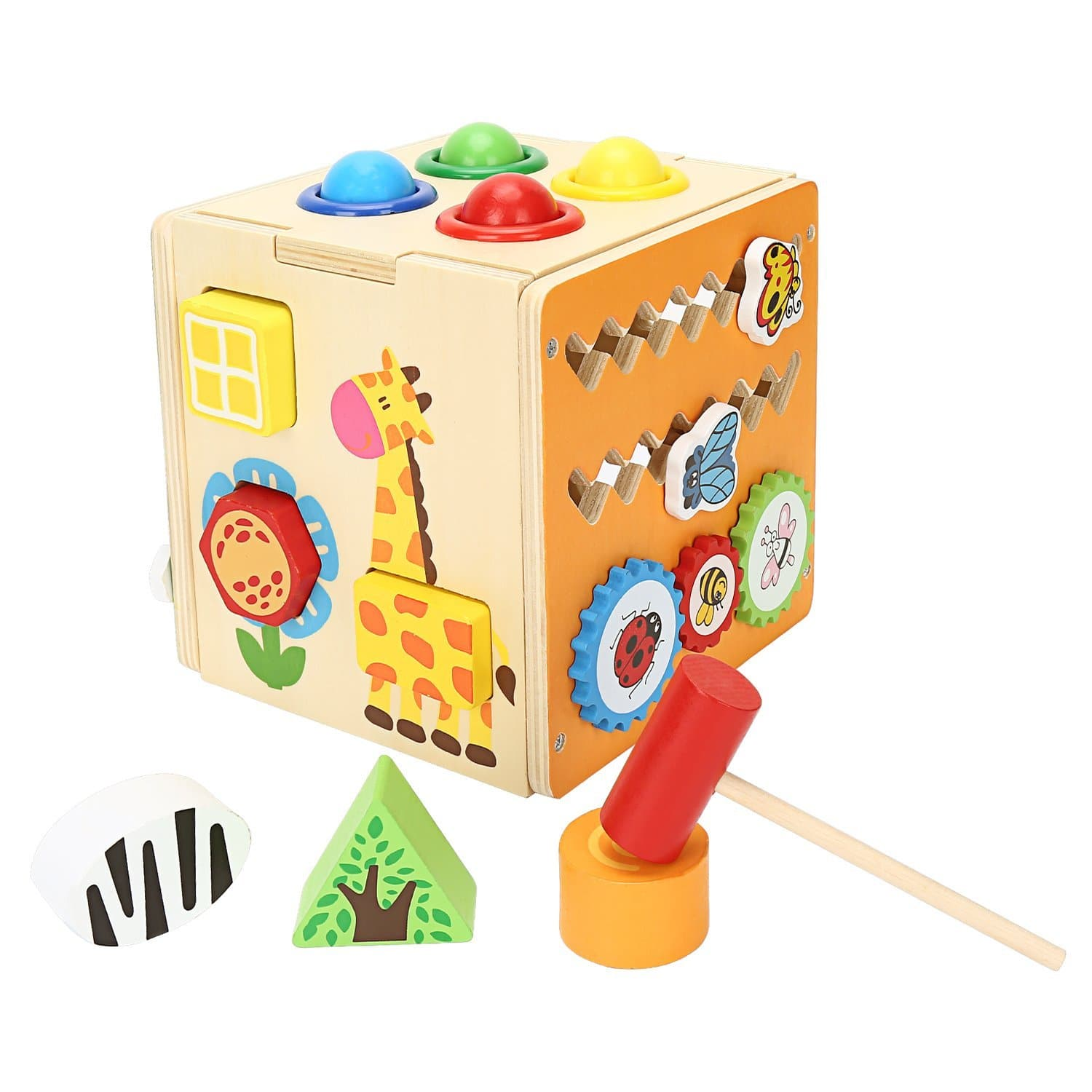 Childrens Wooden Multi-functional Intelligence Box on Amazon $17.99 AC w/ Free Prime Shipping