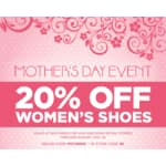 20% Off Women's Shoes at Skechers Online and In-store Through 5/10/15