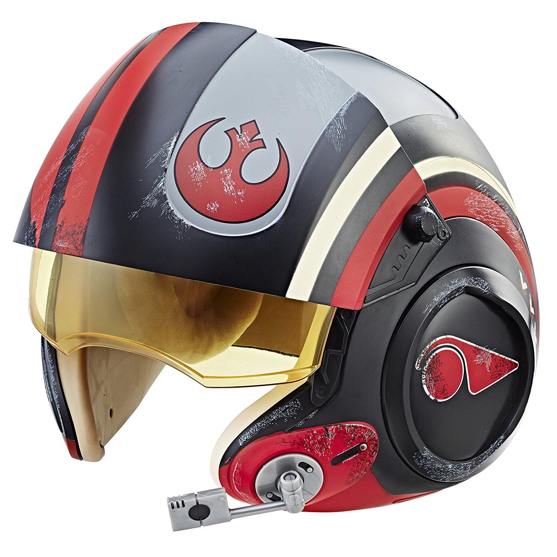 Star Wars The Black Series Poe Dameron Electronic X-Wing Pilot Helmet for $42.14