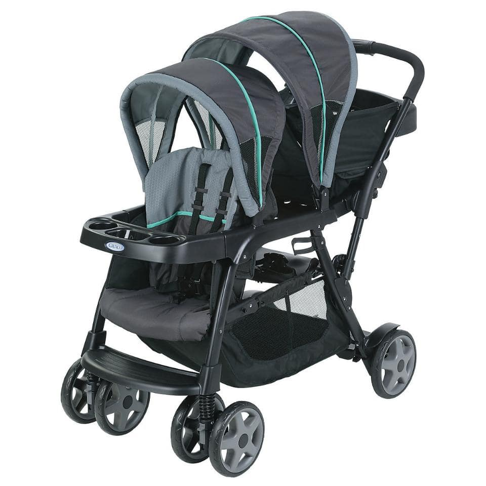 Graco Ready2Grow Click Connect Stand and Ride Double Stroller $75 AC. FS at toysrus.com or get $5 GC for pickup in store