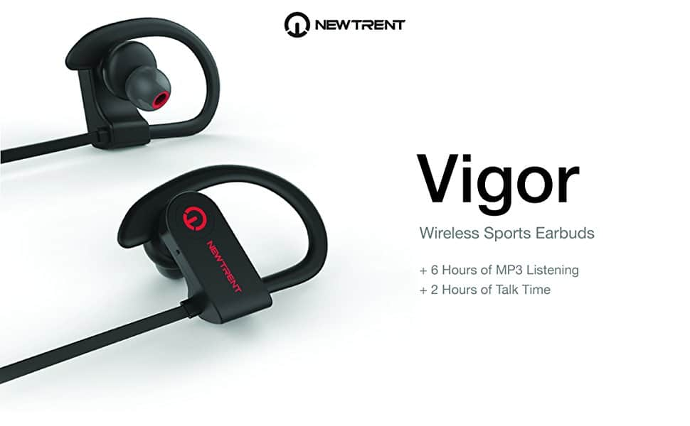 New Trent Vigor Wireless Sports Earphones Mic Stereo for $10.99 @ Amazon with FS