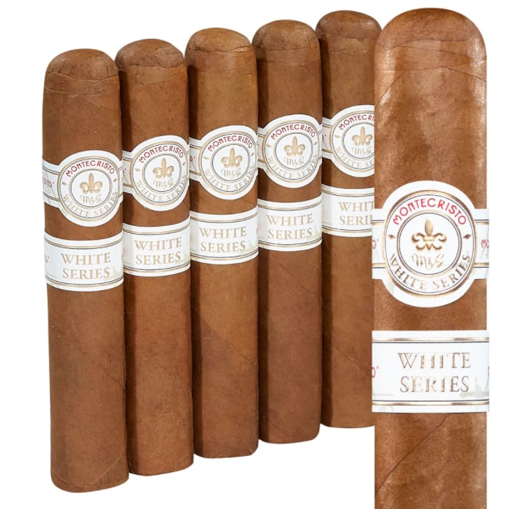 Montecristo White Label Rothschilde Cigars 5-Pack for $25 $24.99