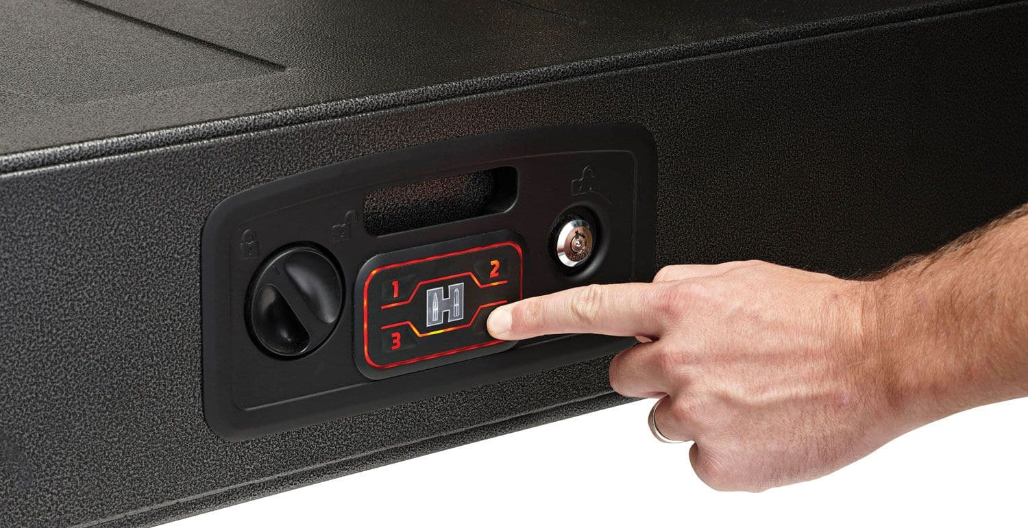 "Hornady RAPiD Safe AR Gunlocker -- 35% Off w/ Free Shipping  + 10% off $100 coupon ""FREEZE""  -- Total $206.99"
