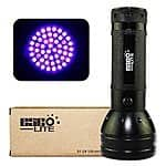 Ultraviolet 51 LED flashlight Blacklight takes 3 AA Batteries Esco-Lite 395 nM $12.99 + FSSS