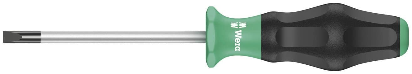 Wera 1335 Comfort Slotted Screwdriver (0.5 x 3.0 x 80 mm) $2.75 & More