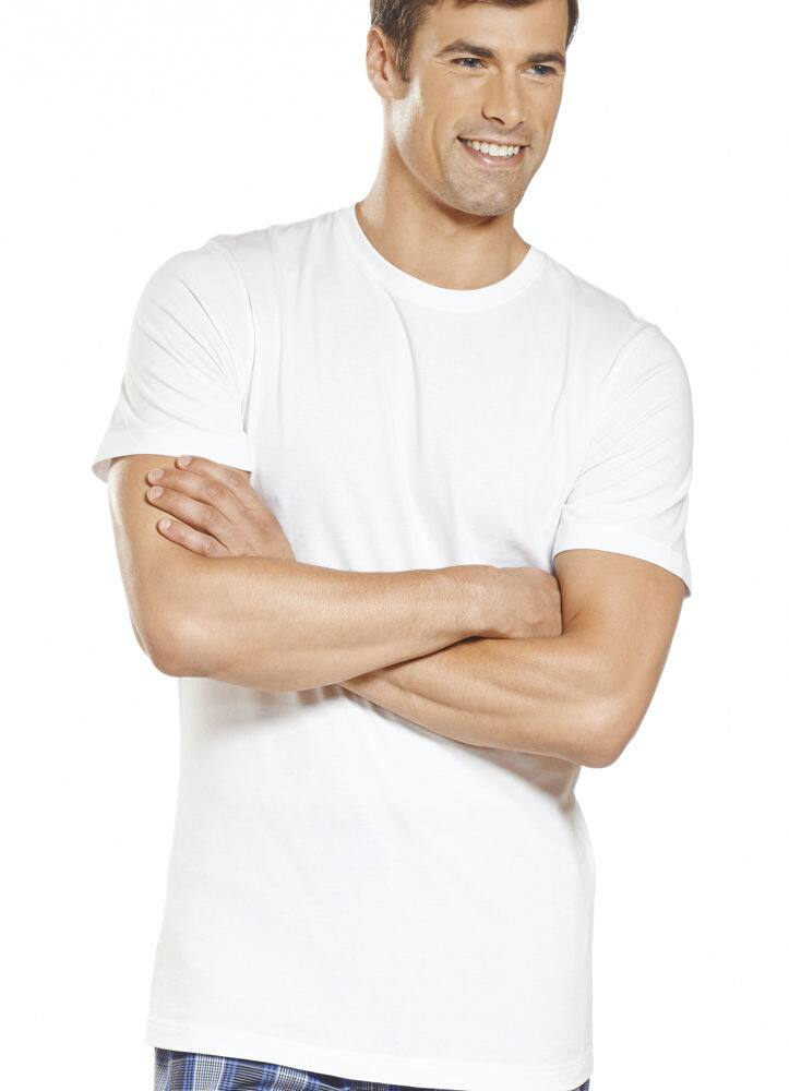 Jockey Mens Slim Fit Cotton Crew Neck Tee Shirt (3 Pack) White or Black - $7.99 + Free Shipping -  eBay