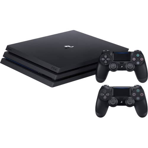 Sony PlayStation 4 Pro Gaming Console & Extra Controller Kit $443.33 + F/S and No Tax for Most $344