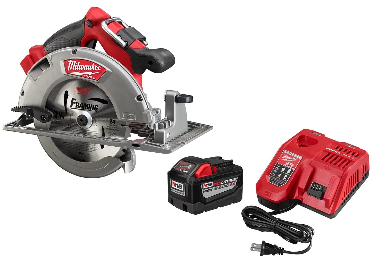 Milwaukee fuel circular saw or fuel sawzall 90 ah high demand milwaukee fuel circular saw or fuel sawzall 90 ah high demand battery and charger 24900 greentooth Image collections