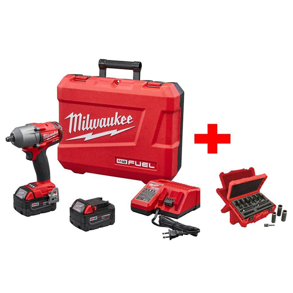 Milwaukee M18 Fuel Mid Torque Impact 2861-22 combo kit $369.97 Free Shipping + Tax