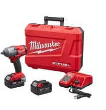 20% off Milwaukee M18 Fuel Mid Torque Impact 2861-22 combo kit $327.96 Free Shipping + No Tax for most