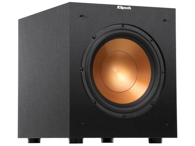 """Klipsch R-10SW Reference 10"""" 300W Powered Subwoofer on sale for $175. Free Shipping ElectronicsExpo.com via Newegg"""