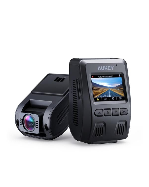 Aukey DR02 1080p Dashcam $47.99 pre-tax with coupon