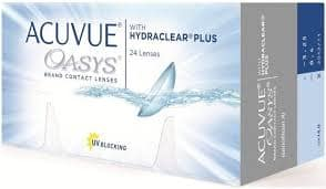 Acuvue Oasys 24 pack contacts $59.89 per box, $5.95 shipping, No Tax