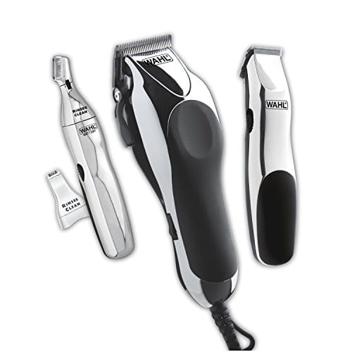 Wahl Home Barber Kit with hair clipper, beard trimmer, personal trimmer $45.74