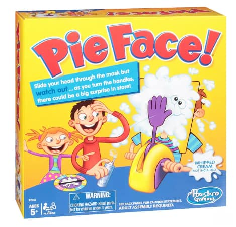 Walgreen's $2 Hasbro Games: Pie Face, Speak Out, Fantastic Gymnastics, Etc YMMV