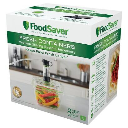 FoodSaver 5-Cup Container YMMV $4.48 Target B&M