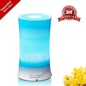 Essential oil diffuser for $9.99 @ Amazon