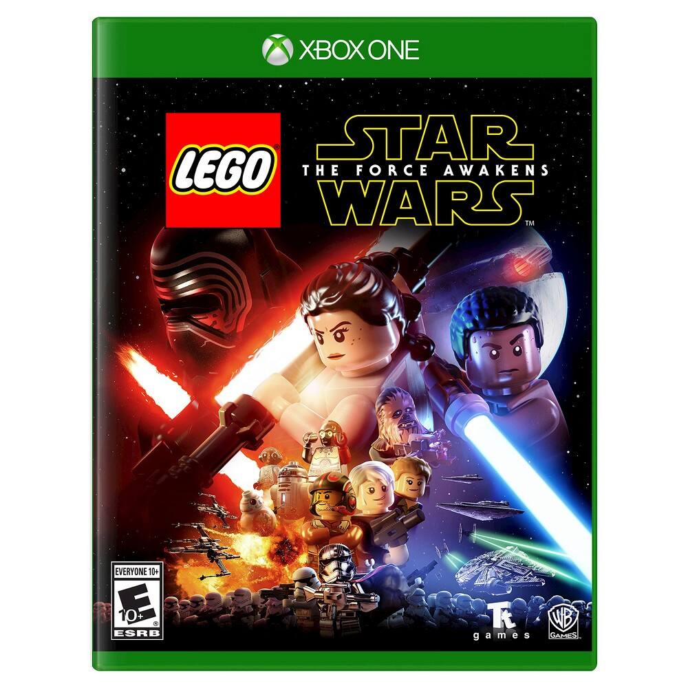 Lego Star Wars: Force Awakens $39.99 (XB1, PS4, 360) @Target