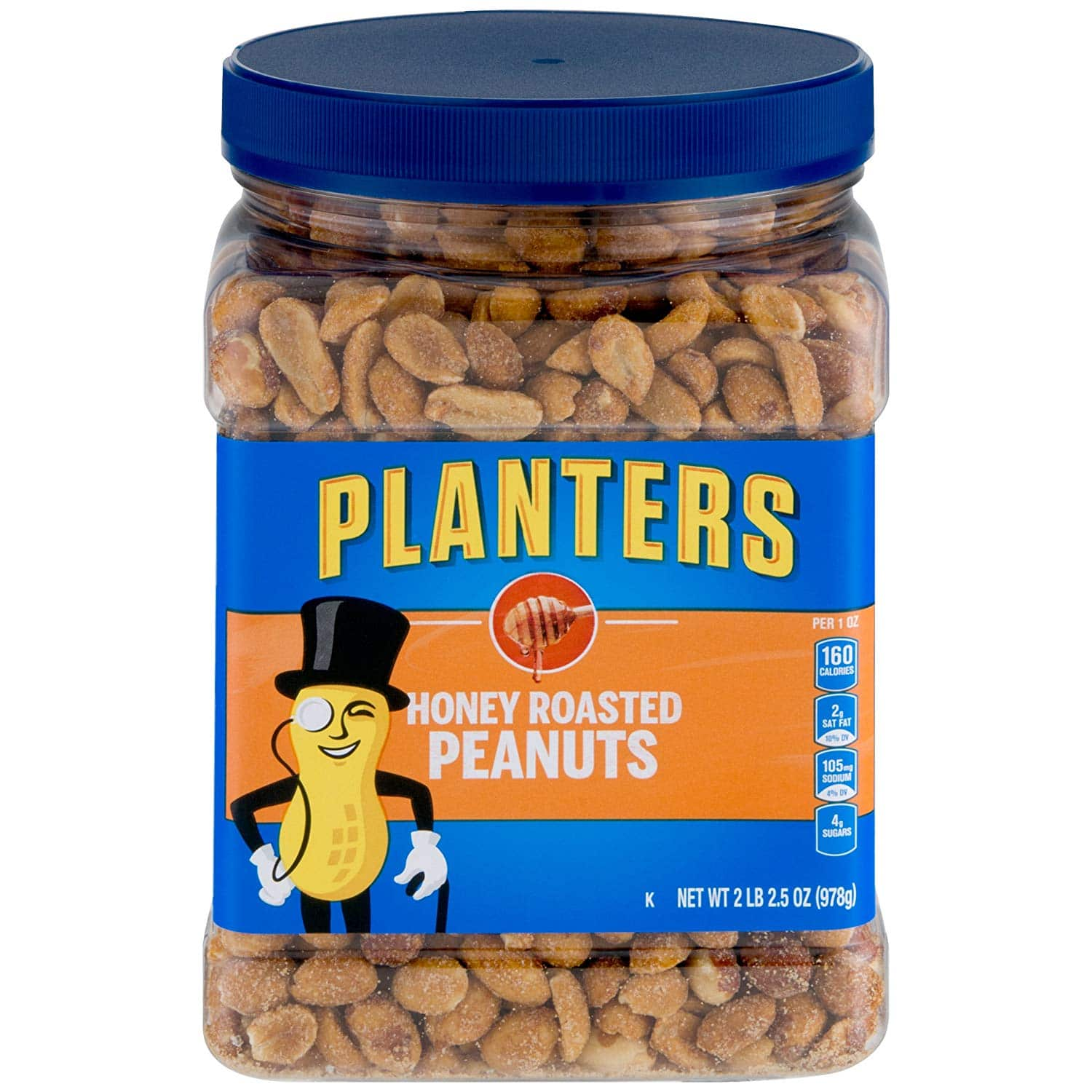 Amazon has Planters Dry Honey Roasted Peanuts, 34.5 Ounce, Pack of 2 as low as $6.65 via Subscribe & Save $7.82