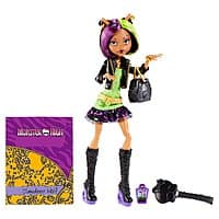 Amazon Deal: Monster High New Scaremester Clawdeen Wolf Fashion Doll - 6.65 (or Scaremester Twyla 6.82)  shipped with amazon prime!