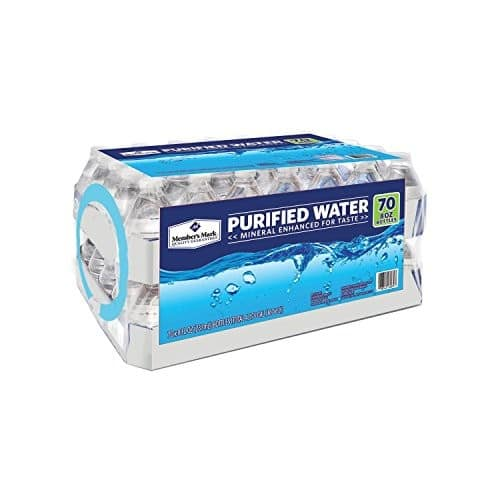 Member's Mark Purified Water, 80 Count 8 oz bottles $6 w/S&S
