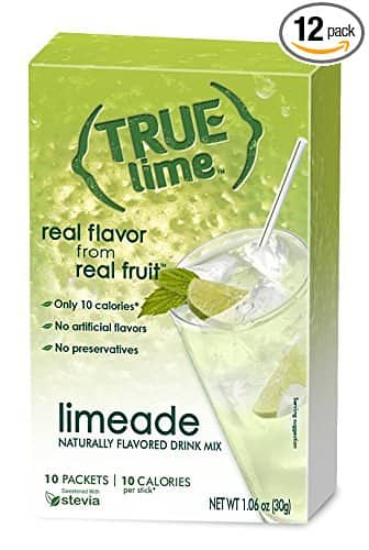 True Lime Limeade 10-count (pack of 12) $6.84 w/FS (Add-on item)