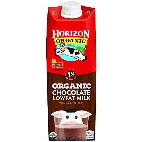 Horizon Organic Lowfat Chocolate Milk, 32 Ounce (Pack of 6) $6.49