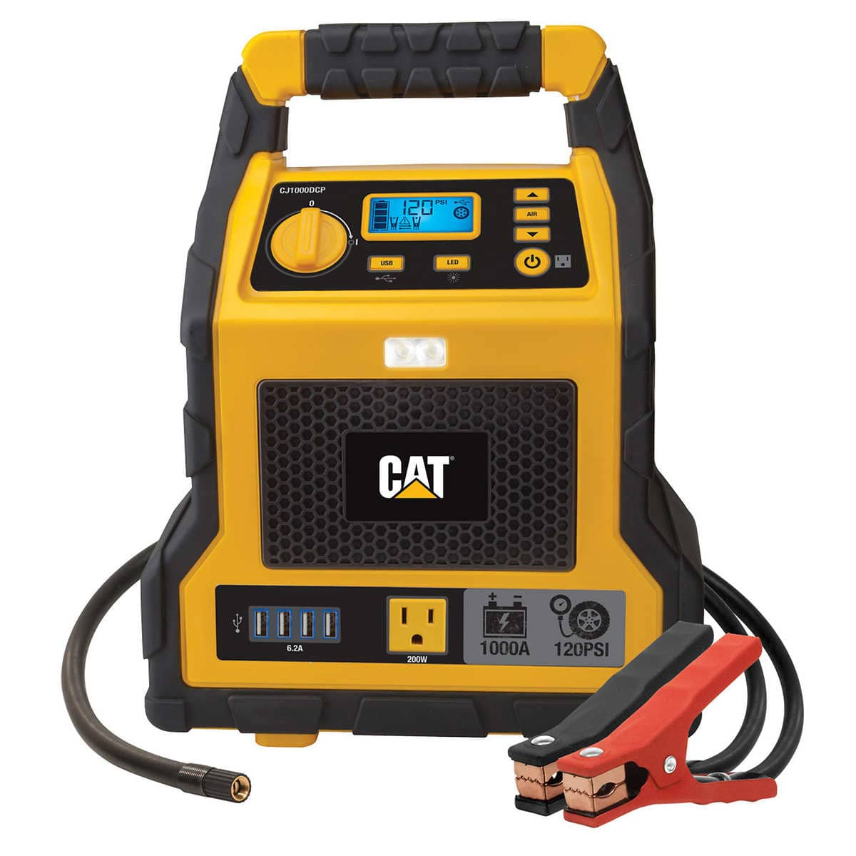 Costco CAT CJ1000DCP 1000Amp 3-in-1 power station jumpstarter and compressor $79.99 Shipped