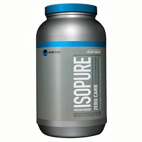 Amazon - Isopure Zero Carb Protein Powder, 100% Whey Protein Isolate, Flavor: Creamy Vanilla, 3 Pounds - $24.32 After 15% Coupon + 15% S&S